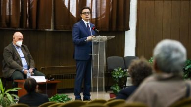 Photo of President Pendarovski stresses need for greater understanding of problems faced by persons with disabilities