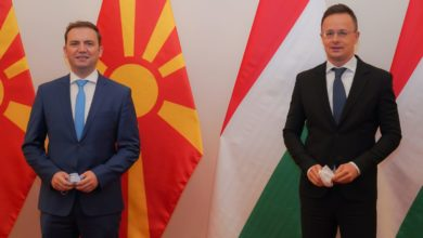 Photo of Osmani and Szijjártó to open Honorary Consulate of Hungary in Shtip
