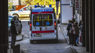 Photo of MoH: 20 patients hospitalized in Skopje COVID centers in past 24 hours