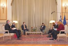 Photo of Osmani-Sakellaropoulou meeting focuses on bilateral relations, EU perspective