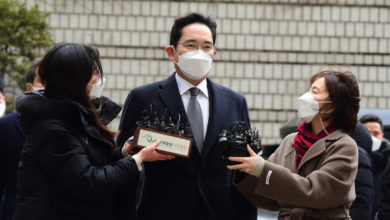 Photo of Reports: Samsung heir sentenced to prison during corruption trial