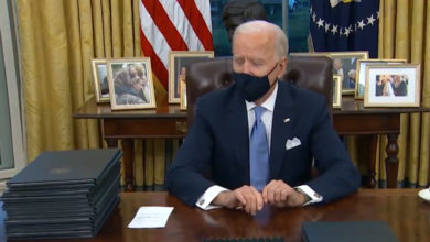 Photo of On first day Biden issues raft of orders undoing key Trump policies