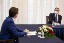 Photo of President Pendarovski meets new KAS Skopje Director Braun