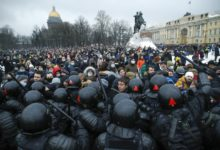 Photo of Russia detained more than 3,400 Navalny supporters at mass demos