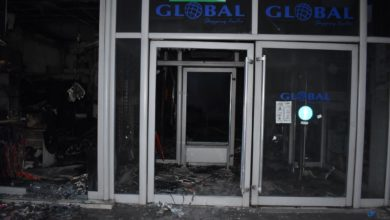 Photo of Cause of 'Global' mall fire under investigation