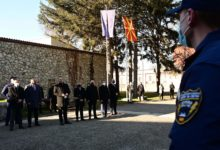 Photo of MoI Spasovski pays visit to future police officers at Idrizovo training center
