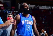 Photo of All-Star cast of Harden, Wall, Cousins help Rockets hold off Kings