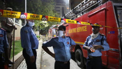 Photo of Five killed in huge fire at Indian vaccine manufacturer facility