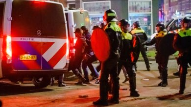 Photo of Netherlands sees another night of violent protests against curfew