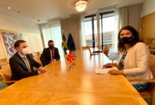 Photo of Deputy PM, FM meet Swedish and Finnish FMs in Brussels