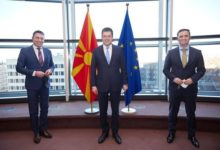 Photo of Deputy PM Dimitrov, FM Osmani meet EU Commissioner Lenarčič, discuss sooner vaccine distribution in region