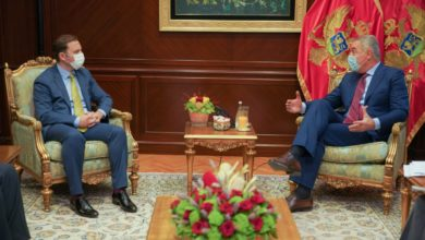 Photo of FM Osmani meets with top officials during official visit to Montenegro