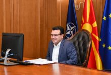 Photo of PM Zaev, WHO's Kluge discuss procurement of COVID-19 vaccines