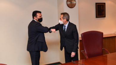 Photo of North Macedonia, Greece promoting stability in WB, conclude Zaev and Koundouros