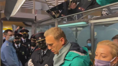 Photo of US says Navalny's arrest is effort to 'silence' him