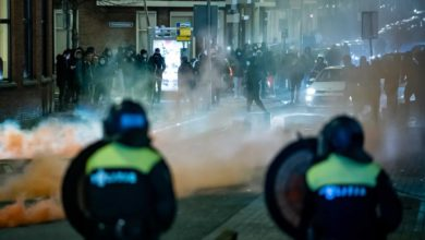 Photo of Tensions high in the Netherlands after nights of riots