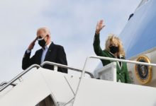Photo of Biden, first lady tour storm-ravaged Texas amid state's reckoning