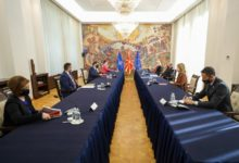 Photo of President Pendarovski meets chambers of commerce within Public-Private Dialogue Platform