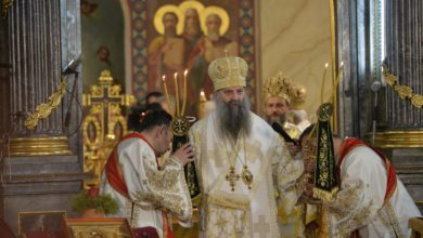 Photo of New Serbian Orthodox Church patriarch says will serve peace, connect people