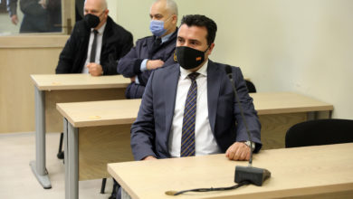 Photo of PM Zaev testifies in 'Titanic' hearing