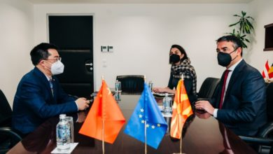 Photo of Deputy PM Dimitrov holds meeting with Chinese Ambassador Zuo