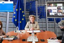 Photo of Von der Leyen: 100 million vaccine doses per month in EU from April