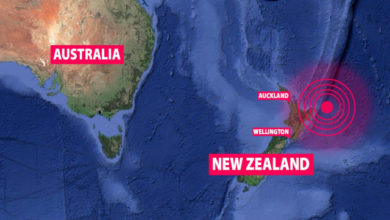 Photo of Third quake strikes near New Zealand; people urged to evacuate