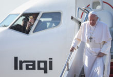 Photo of Pope prays for victims in Iraq's one-time Islamic State bastion