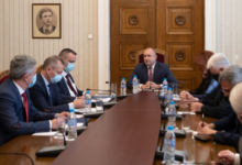 Photo of Bulgarian President meets chiefs of special services due to 'rights' violations of Bulgarians in North Macedonia'