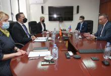 Photo of MoI Spasovski holds meeting with Czech Ambassador Toman
