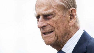 Photo of Britain's Prince Philip returns to private hospital after procedure