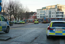 Photo of Swedish police shoot at and arrest man after stabbing rampage