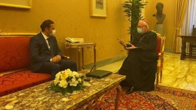 Photo of FM Osmani meets Holy See Secretary, Monsignor Gallagher