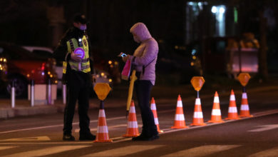 Photo of Police issue fines for curfew, face mask violations