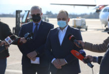 Photo of The first batch of Russia's Sputnik V vaccine arrives at Skopje airport