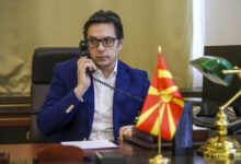 Photo of President Pendarovski, NATO chief Stoltenberg hold phone call on N. Macedonia's first anniversary as member