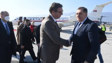 Photo of Serbian President Vučić brings vaccine donation for Bosnia's Federation entity