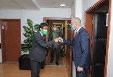 Photo of Agency for Foreign Investments CEO Pavleski, Ambassador Sawada discuss Japanese interest for investments in N Macedonia