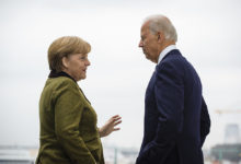Photo of Merkel, Biden back calls for Russia to halt Ukraine border activity