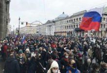 Photo of Hundreds of arrests as Russians protest in support of Navalny