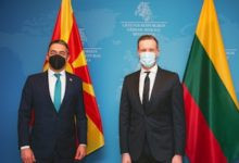 Photo of Lithuanian FM: We expect full support for North Macedonia's EU membership