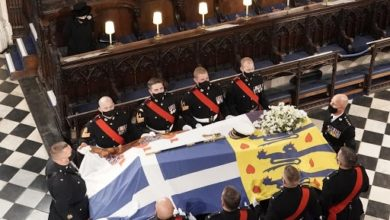 Photo of Duke of Edinburgh's love of the sea and navy feature in his funeral