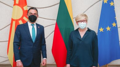 Photo of Dimitrov-Šimonytė: Start of North Macedonia's EU talks to have strong effect on region