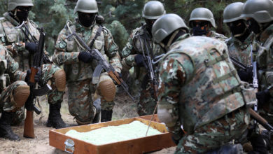 Photo of Macedonian peacekeepers remain alongside their allies both in missions and in exercises