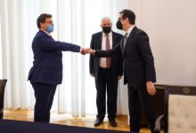 Photo of President Pendarovski meets Albania's Chief Negotiator with EU Mazi