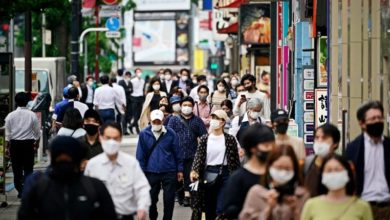 Photo of Japan economy contracts 5.1 per cent in 1st quarter amid virus spike