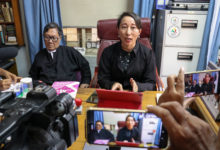 Photo of Suu Kyi appears in Myanmar court after long public absence