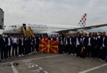 Photo of National football team leaves for Bucharest, to debut at Euros
