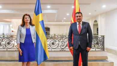 Photo of Zaev-Linde: Sweden expresses clear support for North Macedonia's European aspiration
