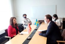 Photo of Sweden's Linde to meet PM Zaev and FM Osmani